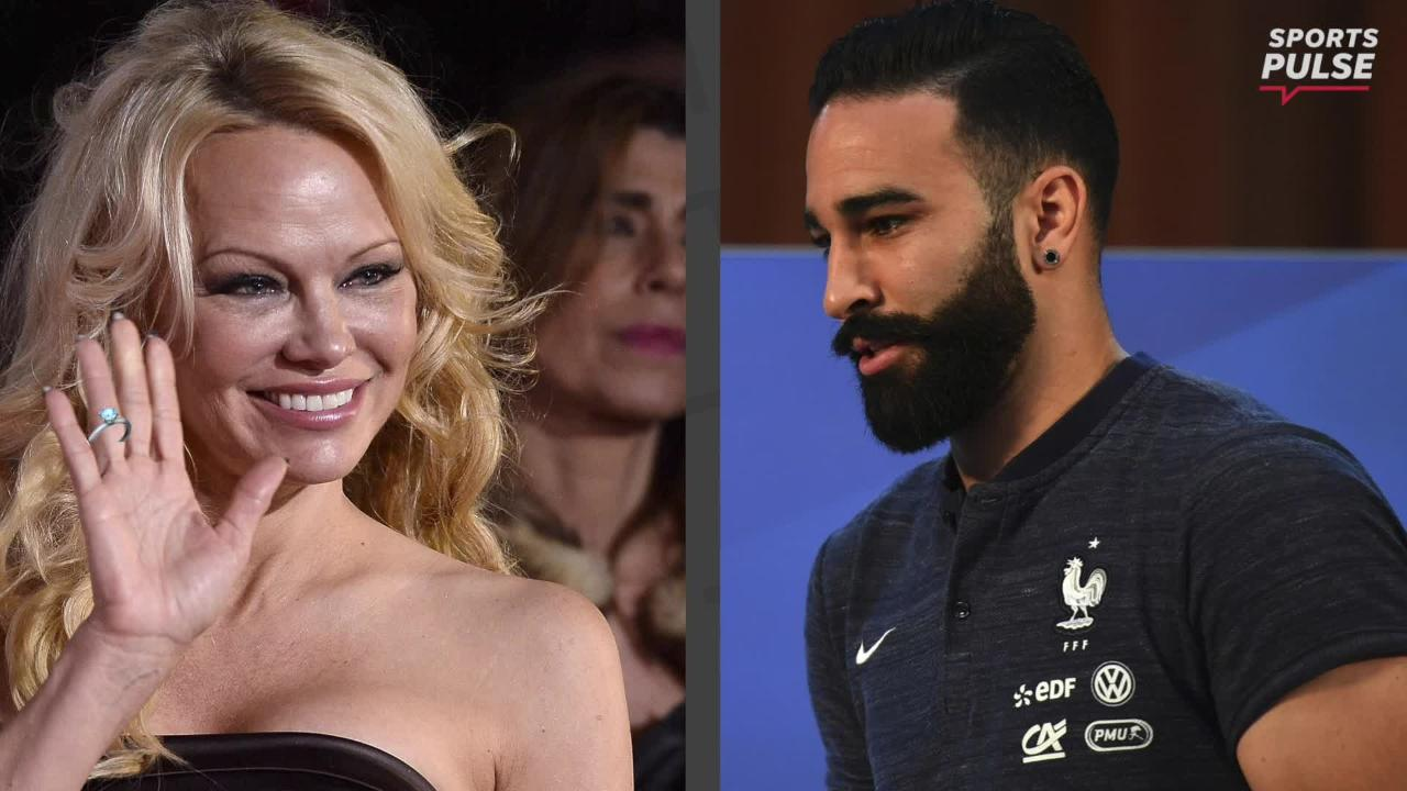 The French are winning on and off the pitch. Martin Rogers provides the latest gossip on the hottest couple at the World Cup.