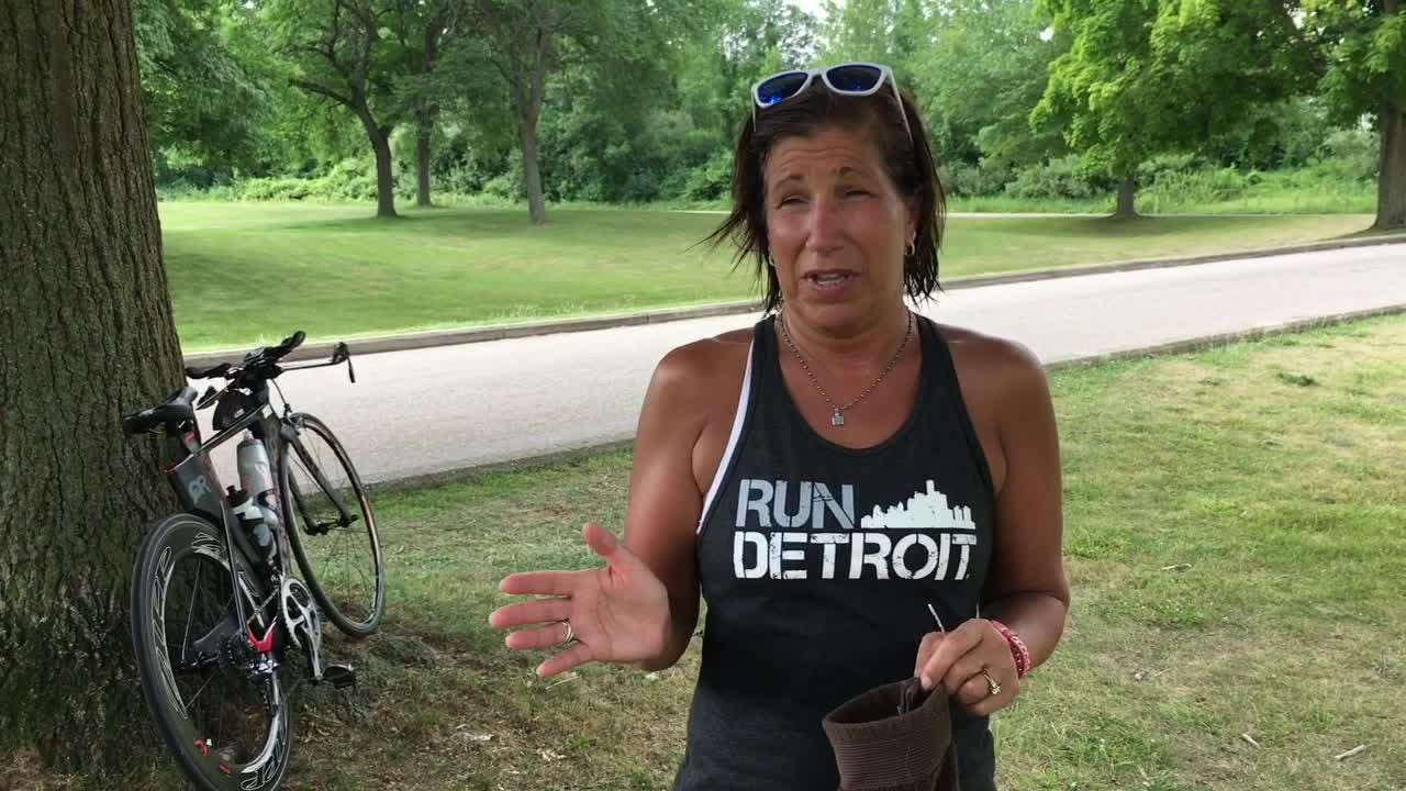 Julie Bedford takes the qualities of an endurance athlete to her job, and vice versa.