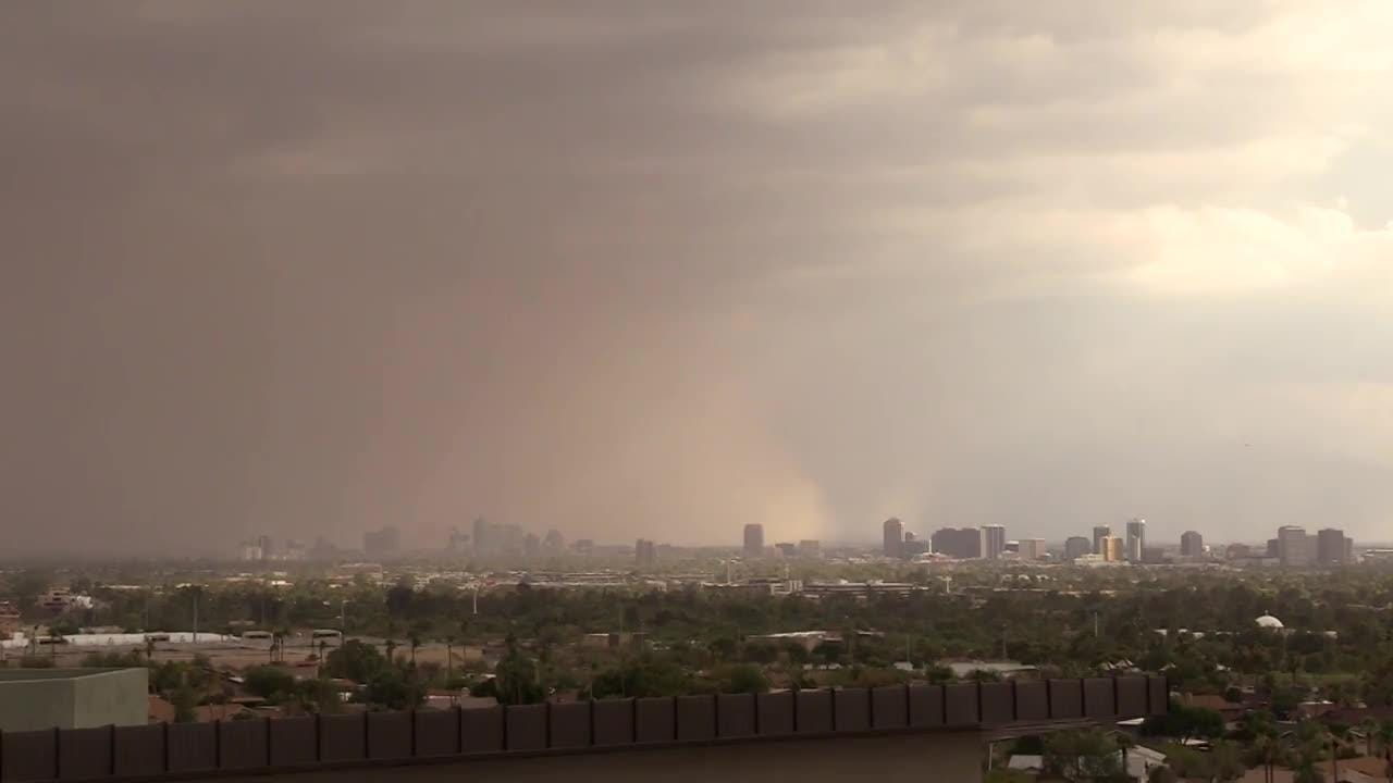 Blowing dust advisory issued for south-central and western Arizona, National Weather Service says