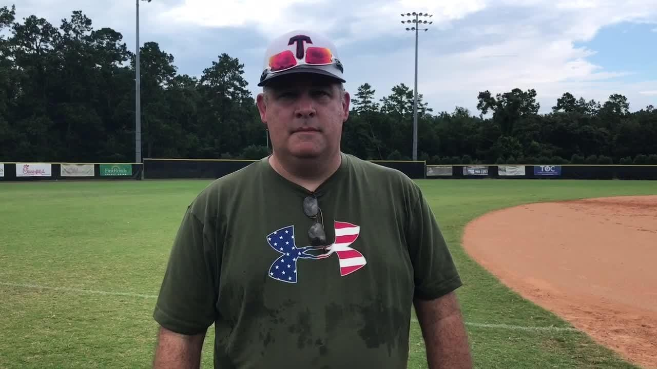 WATCH IT: TLBR 14U coach Mike Harrison on Babe Ruth state tournament
