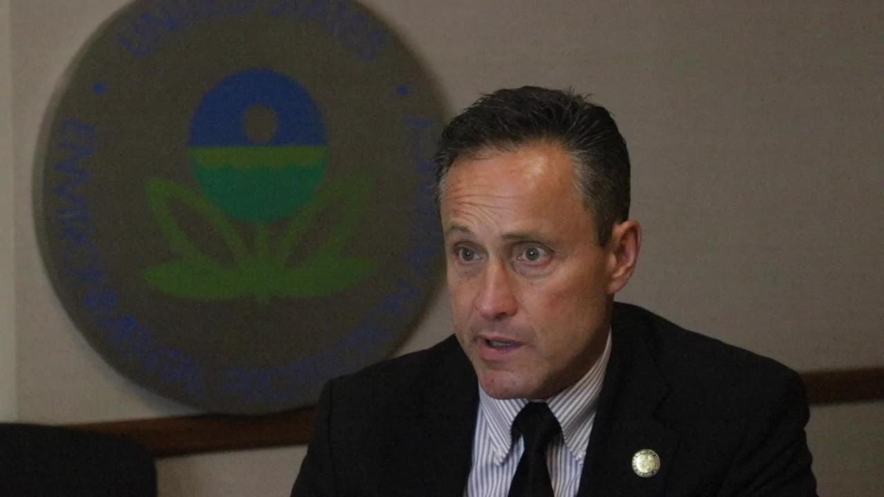 EPA Region 2 Director Peter Lopez talks about the Hackensack River.
