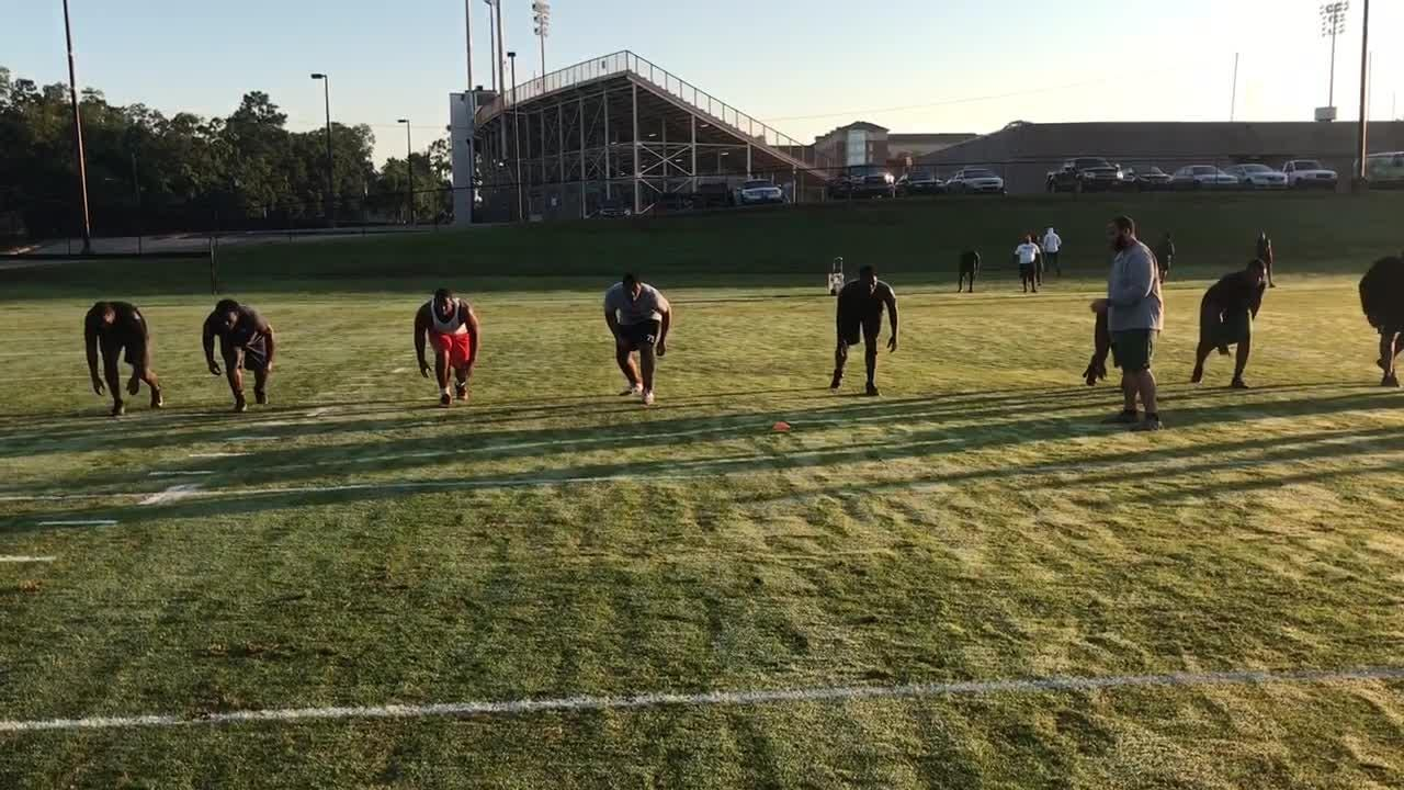 FAMU players train to improve speed, agility and quickness during summer workouts