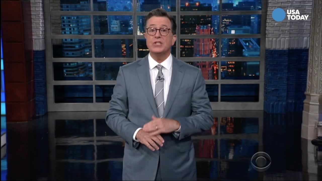The late-night comics take a look at social media response and Kavanaugh's record. Vote or your favorite joke at usatoday.com/opinion.