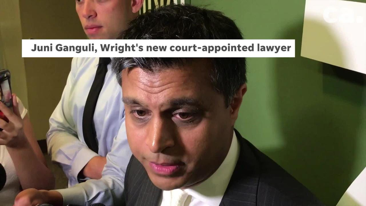 Lawyers for Sherra Wright, Steve Farese Jr. and Blake Ballin, have withdrawn from representing her citing only a deteriorating relationship between them and their client.