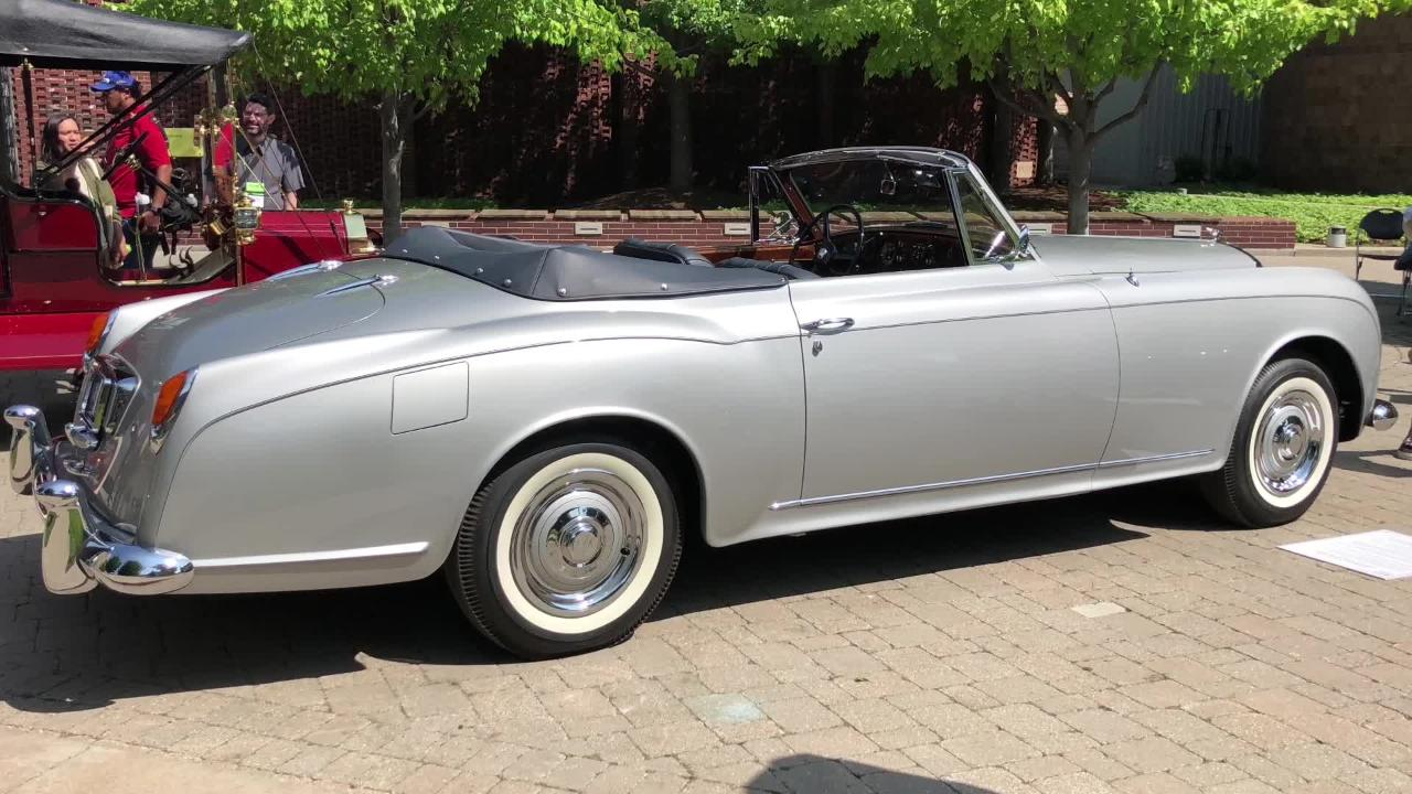 1958 Bentley convertible owned by Saddam Hussein featured at Concours d'Elegance of America July 29
