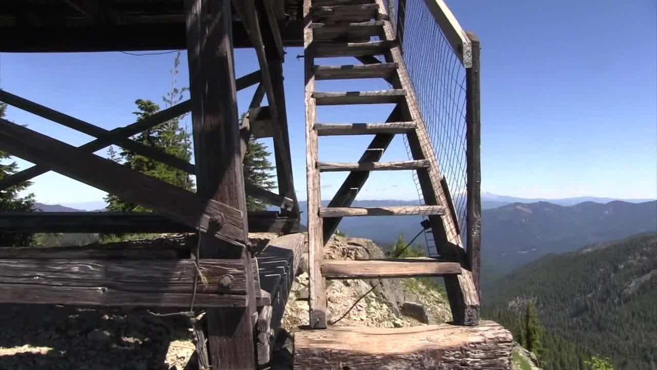 Take an adventure into the remote wilderness to visit historic Bull of the Woods Lookout