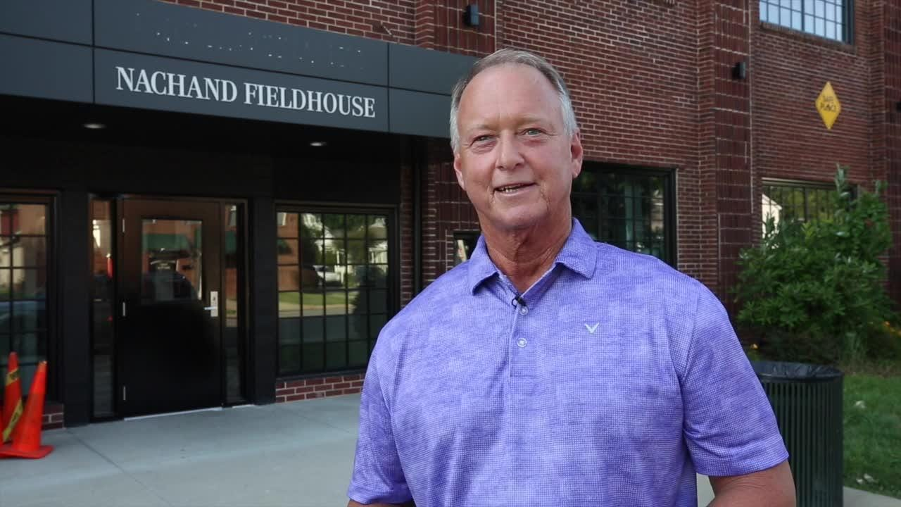 Jeffersonville Mayor Mike Moore ordered John Schnatter's name removed from the Nachand Fieldhouse after he used a racial slur.