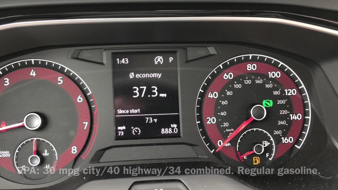 2019 Volkswagen Jetta sedan has good fuel economy, lively handling, strong value