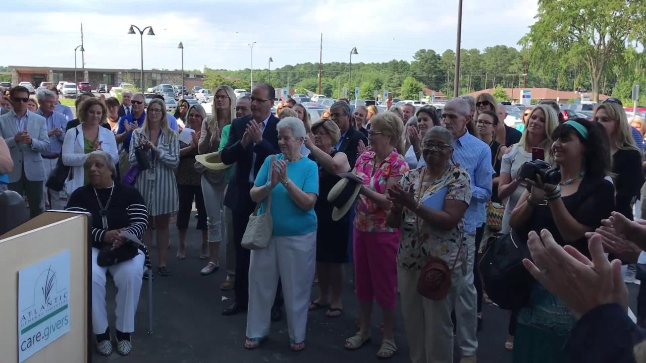 The grand opening for the John H. 'Jack' Burbage, Jr. Regional Cancer Care Center in Berlin, Maryland drew over 100 people on July 11.