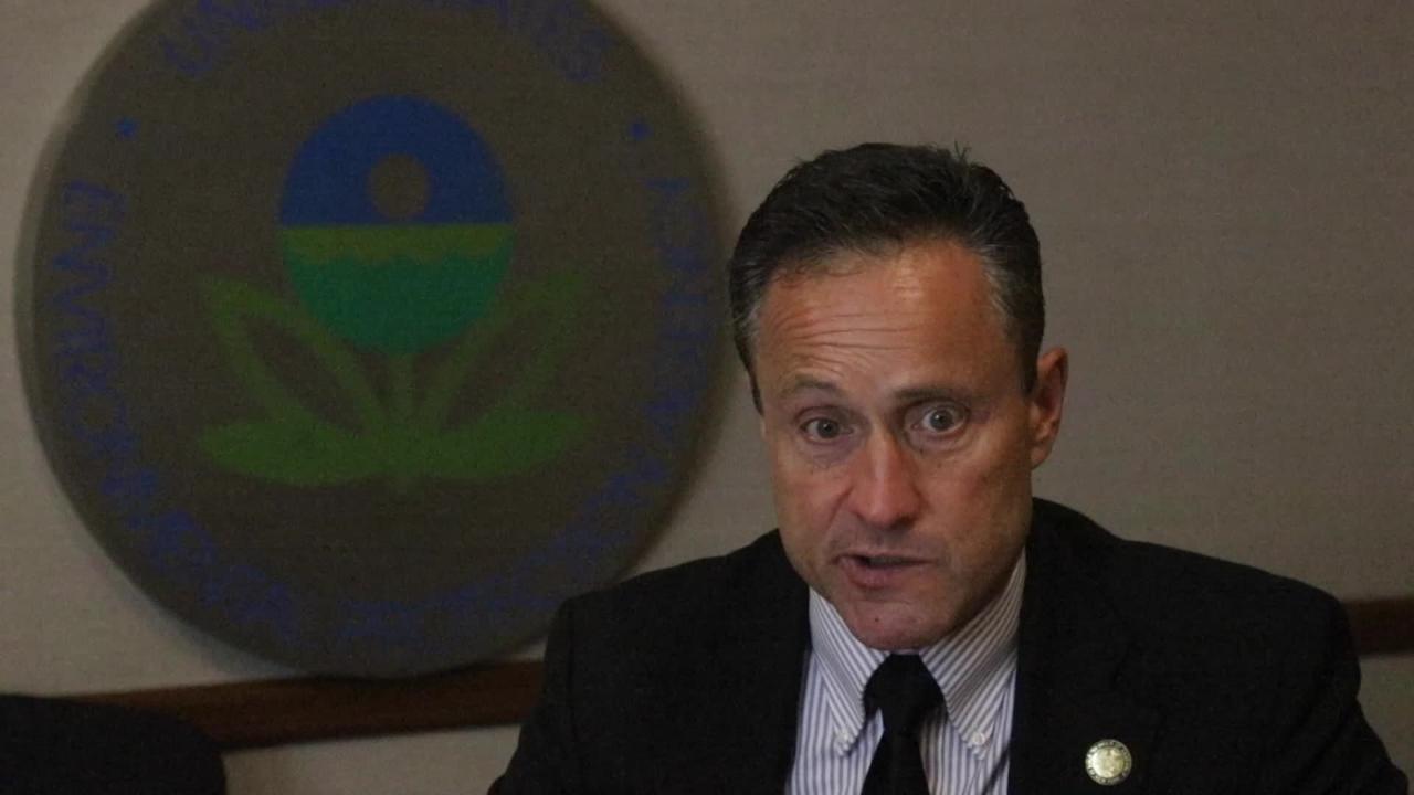 EPA Director Peter Lopez discusses the Passaic River