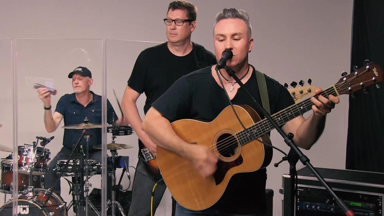 The group Well-Known Strangers performs 'Flicker' in the Tap Milwaukee studios.