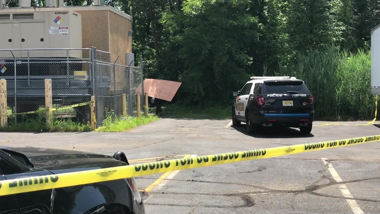 Pine Brook drowning investigation scene