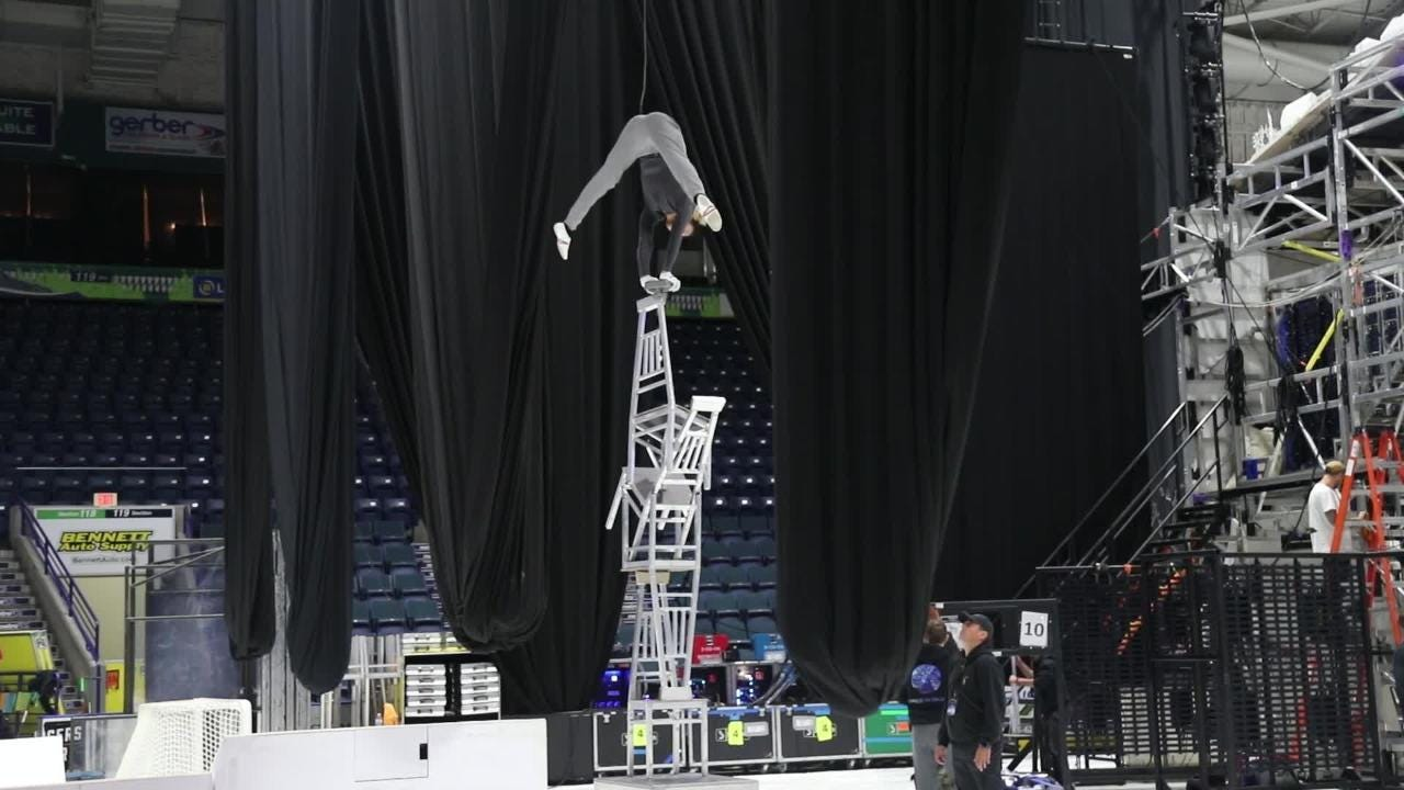 Cirque du Soleil's new ice show Crystal opens Thursday night at Germain Arena in Estero.