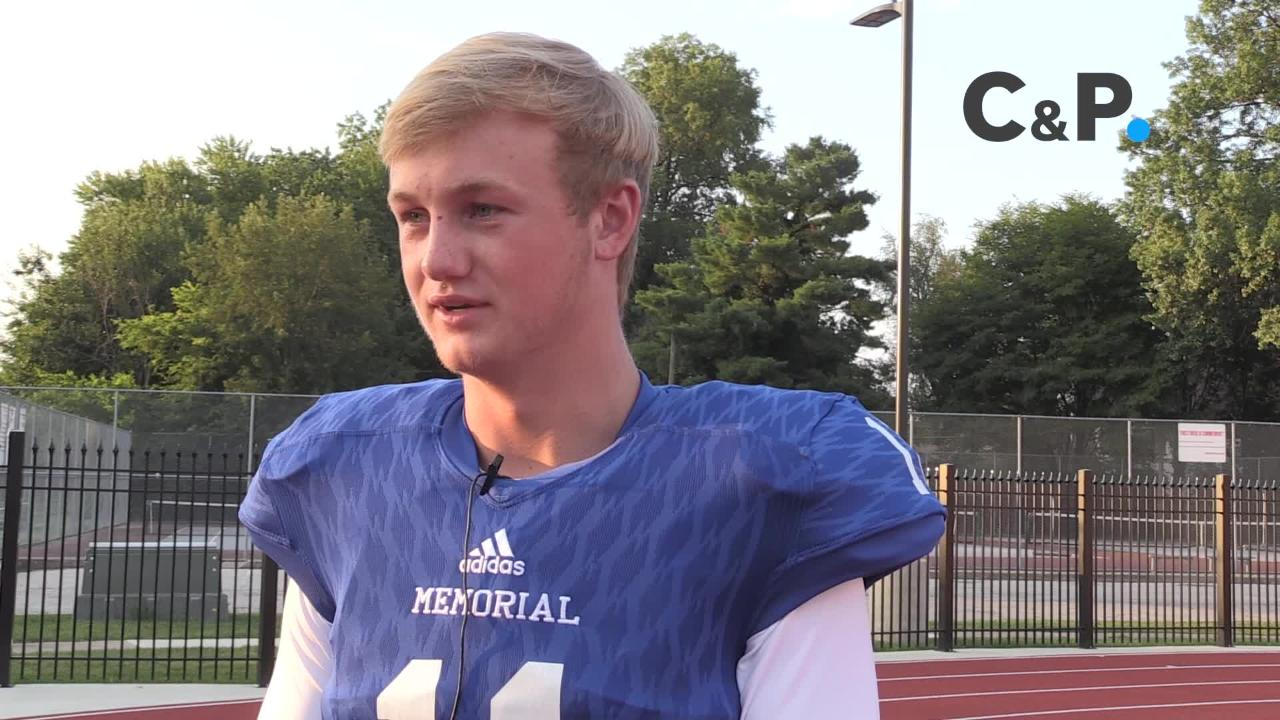 We asked Memorial Quarterback Michael Lindaeur about his role as a leader this year.