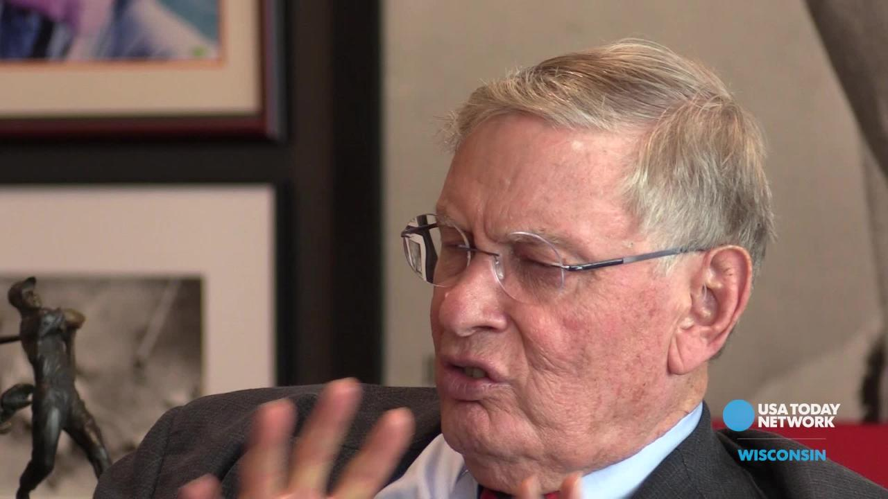 Bud Selig talks about what he'd do differently as Major League Baseball's commissioner in a USA TODAY NETWORK-Wisconsin interview.