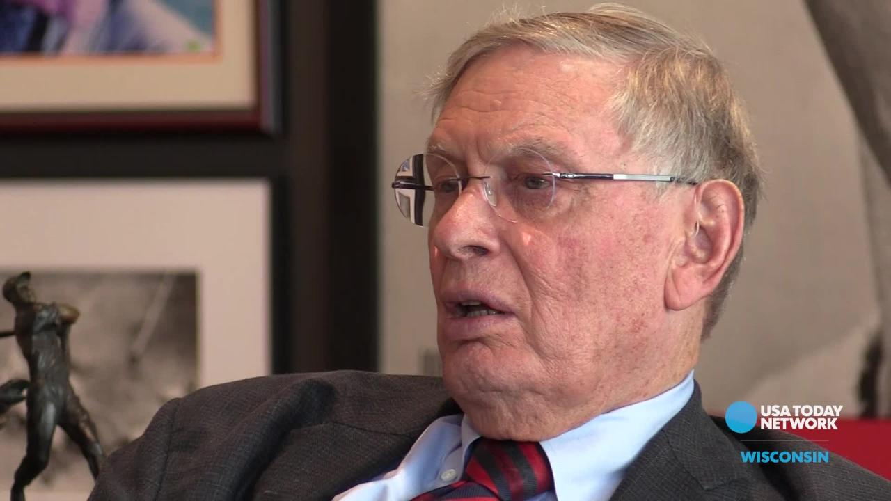 Bud Selig reflects on the accomplishments he helped lead as commissioner of Major League Baseball in a USA TODAY NETWORK-Wisconsin interview.