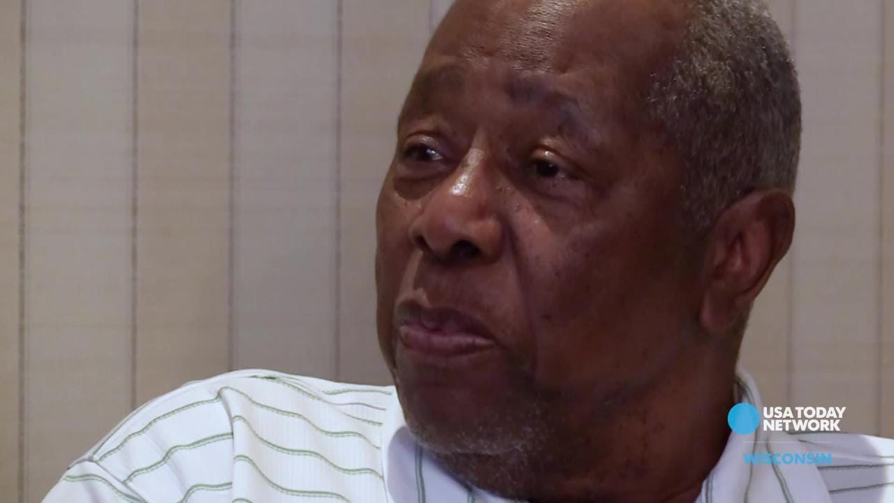 Hall of Famer Hank Aaron talks about the bond between the Milwaukee Braves and their fans in a USA TODAY NETWORK-Wisconsin interview.