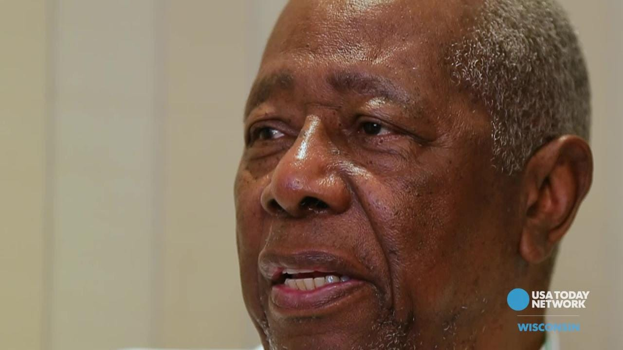 Hall of Famer Hank Aaron talks about Jackie Robinson in a USA TODAY NETWORK-Wisconsin interview as part of its Wisconsin baseball legends package.