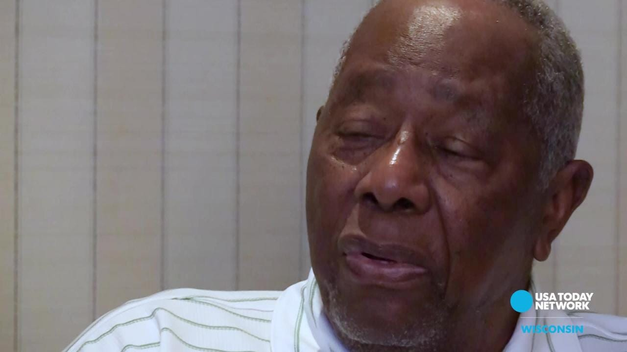 Hall of Famer Hank Aaron talks about race relations in a USA TODAY NETWORK-Wisconsin interview as part of its Wisconsin baseball legends package.
