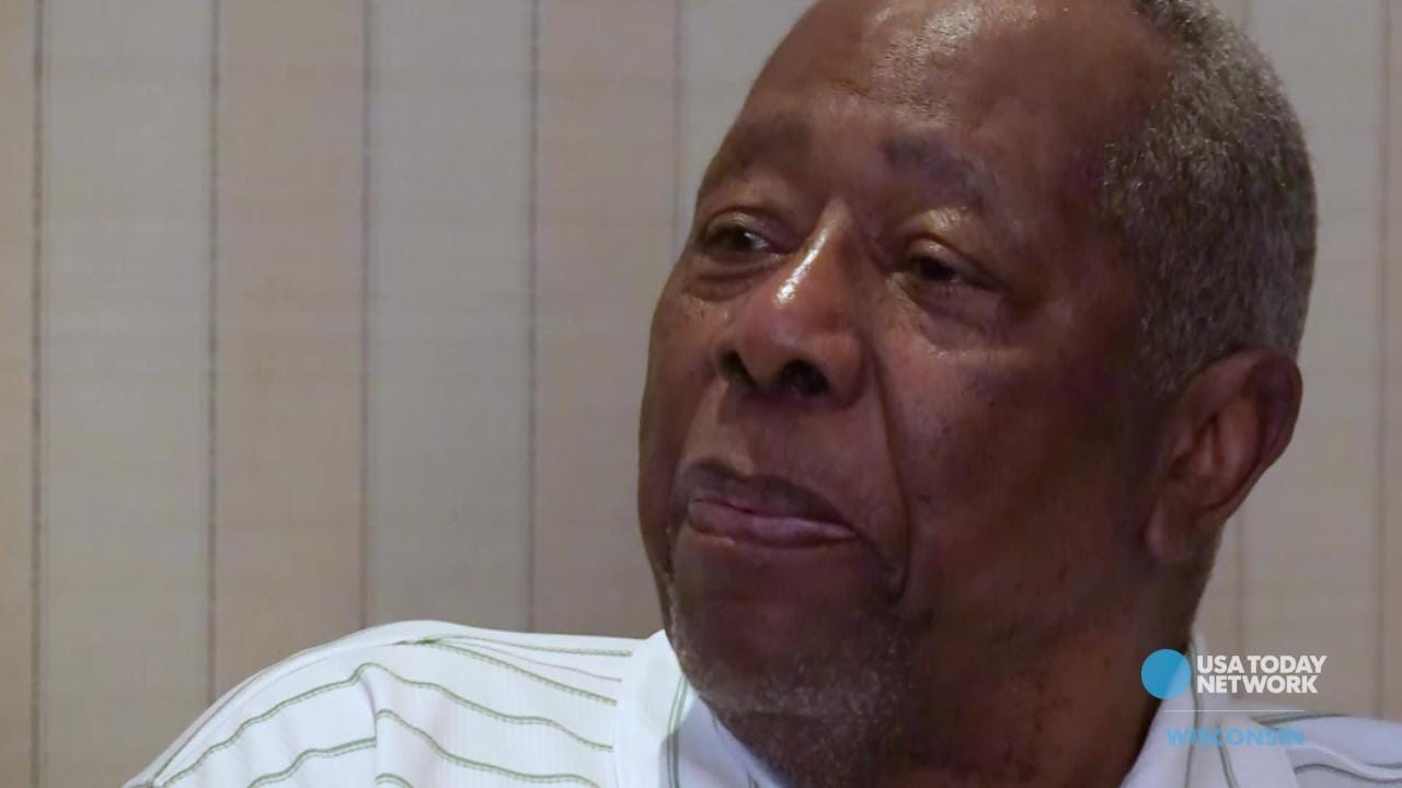 Hall of Famer Hank Aaron talks about his legacy in a USA TODAY NETWORK-Wisconsin interview as part of its Wisconsin baseball legends package.