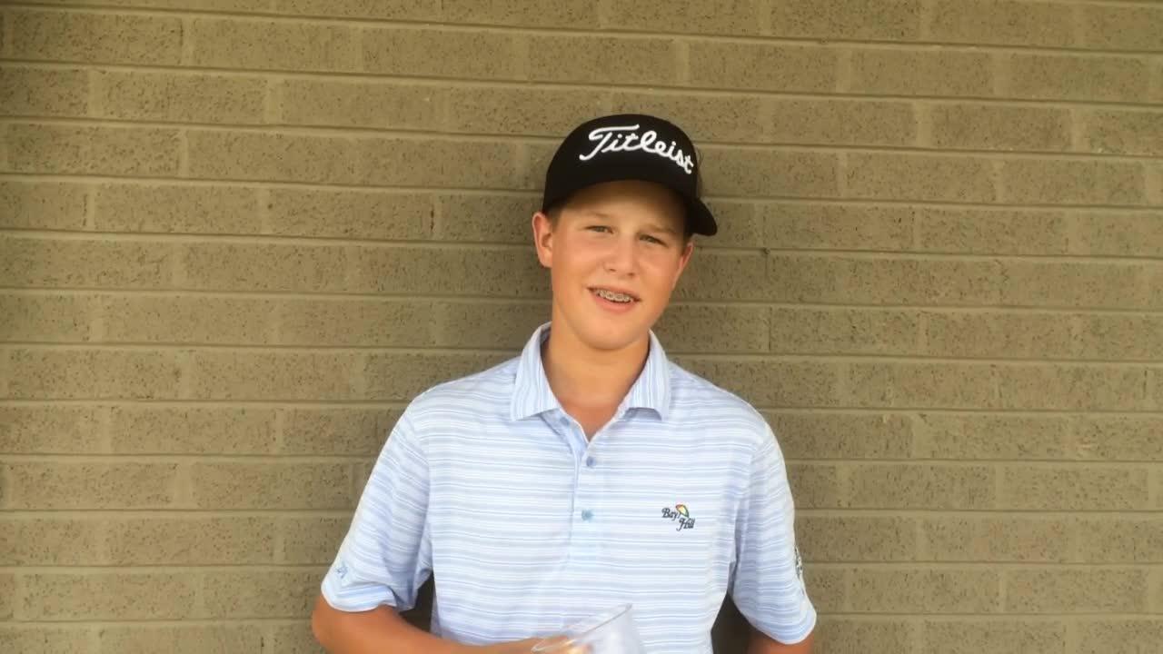 Ethan Dial talks Junior Am golf.