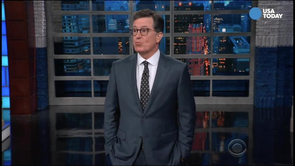 Stephen Colbert is waiting for Mueller to tell us what happened to America