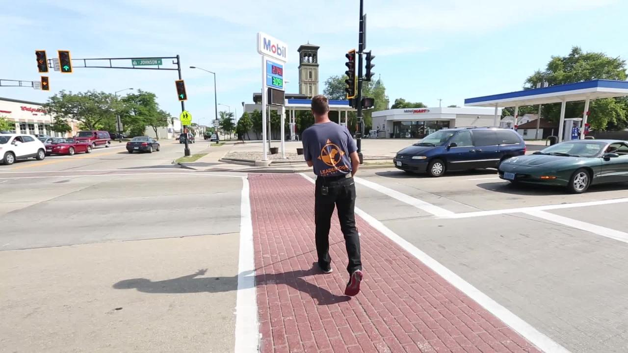 Fond du Lac resident Joe Smet who is visually impaired is trying to get the city to install audible signals at some of the busier intersections.