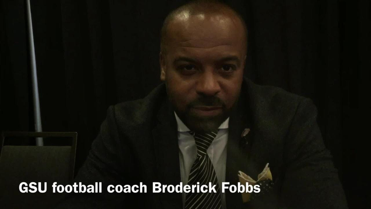 Grambling State head football coach Broderick Fobbs think GSU fans won't have a problem supporting team in Birmingham at SWAC title game.