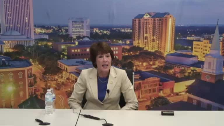 Gwen Graham, Democratic candidate for Governor of Florida, meets with the Editorial Board
