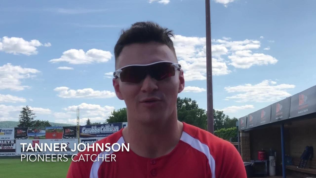 Pioneers players Jordan Westburg and Tanner Johnson, along with Elmira manager Matt Burch, talk about hosting the 2018 Perfect Game CBL All-Star Game.