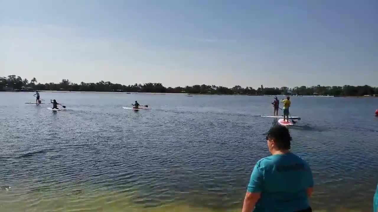 Collier County hosted the Area 9 Standup Paddle Competition at Sugden Regional Park in East Naples on Saturday, July 14, 2018. Fifty athletes from five counties competed.