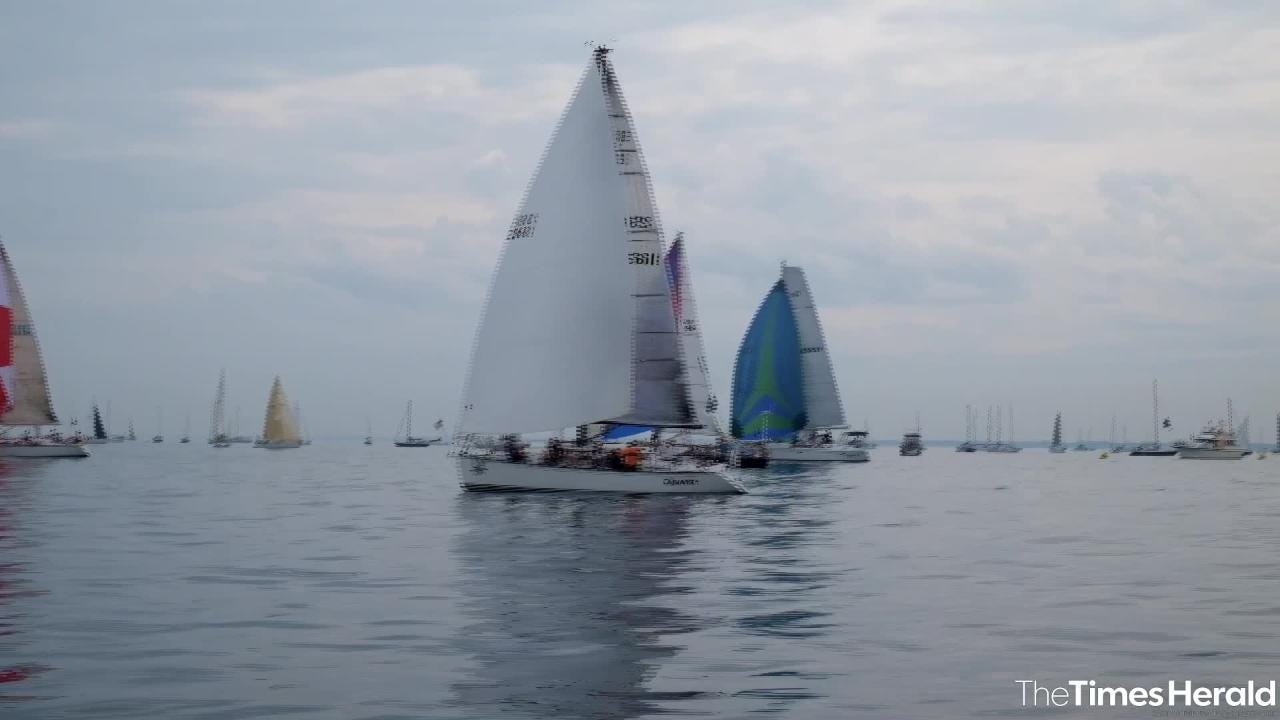 A lack of wind has lead to several postponements of the 2018 Bell's Beer Bayview Mackinac Race on Saturday, July 14, 2018.