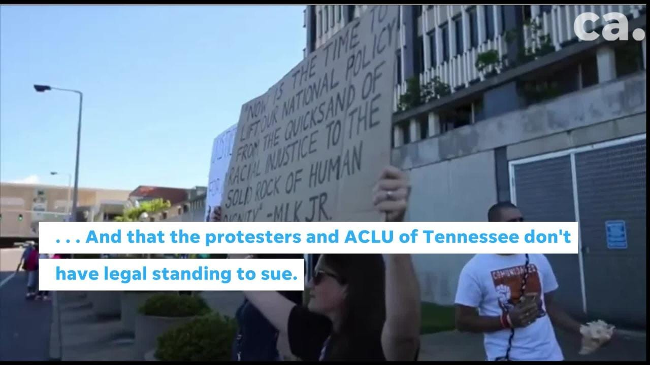 Back in the 1970s, a lawsuit revealed the Memphis city government spied on protesters and civic groups. At issue - is the government doing it now?