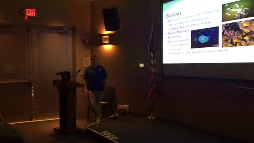 Diversity of Guam's marine life explained by Abigail Gritis, a Summer Fellow with the U.S. Fish and Wildlife Service.