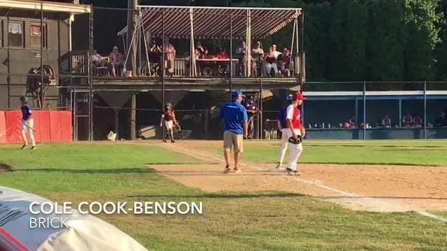 The Brick Little League snapped a 3-3 tie with a 5-five run fifth inning on July 14 in a Section 3 game against Ocean