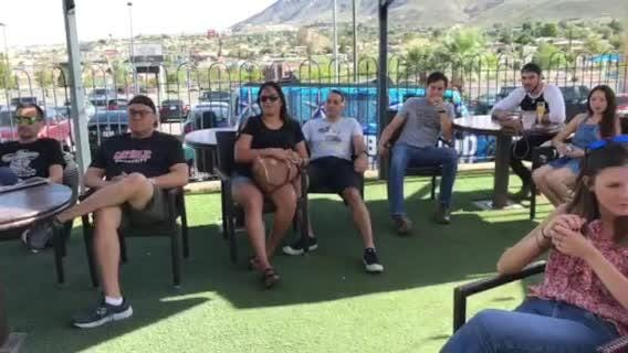 El Paso fans gather to watch FIFA World Cup final Sunday at the Brass Monkey, 3233 N. Mesa