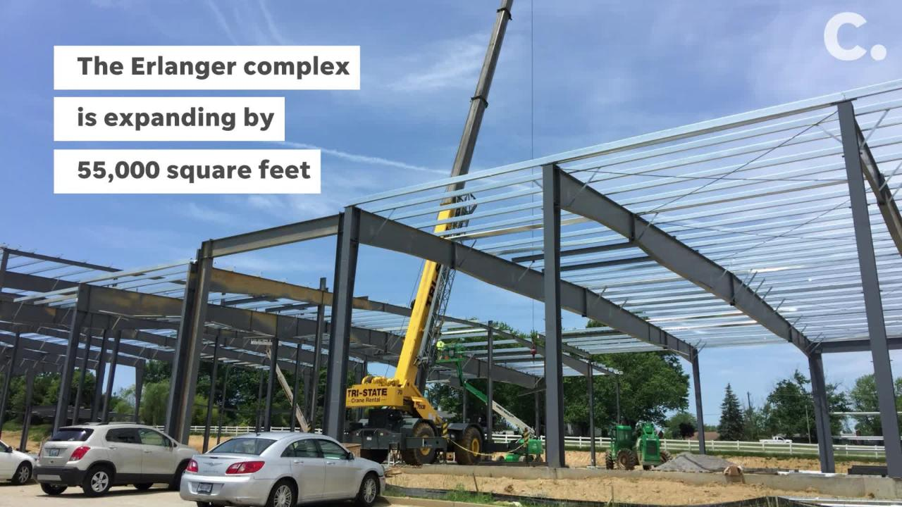 A $9 million project will add 55,000 square feet to the Erlanger family-focused recreation center.