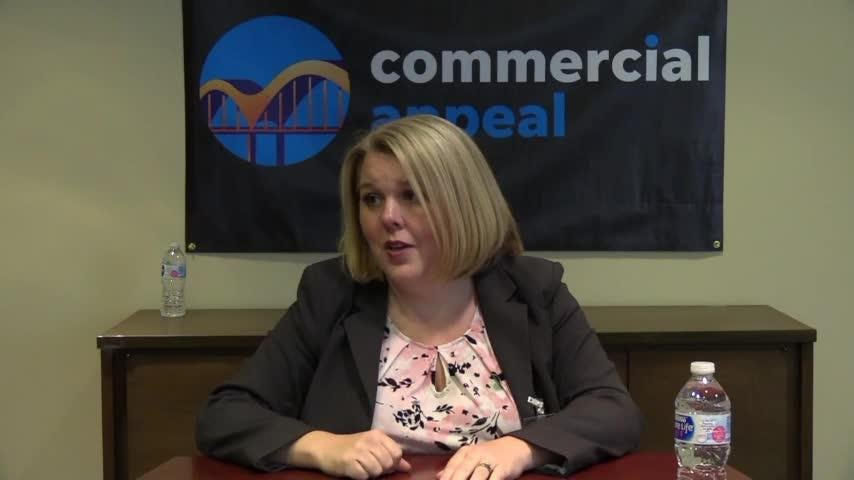 Editorial Board interview with Shelby County Commission candidate for District 3 Monica Timmerman.