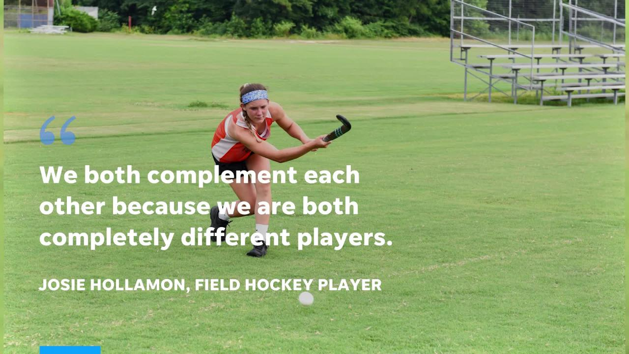 Two Delmar student field hockey players have been selected to participate in the Junior Olympics.