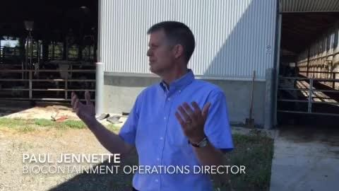 Paul Jennette talks about how a manure separator is being used to provide clean bedding for cows as well as clean energy.