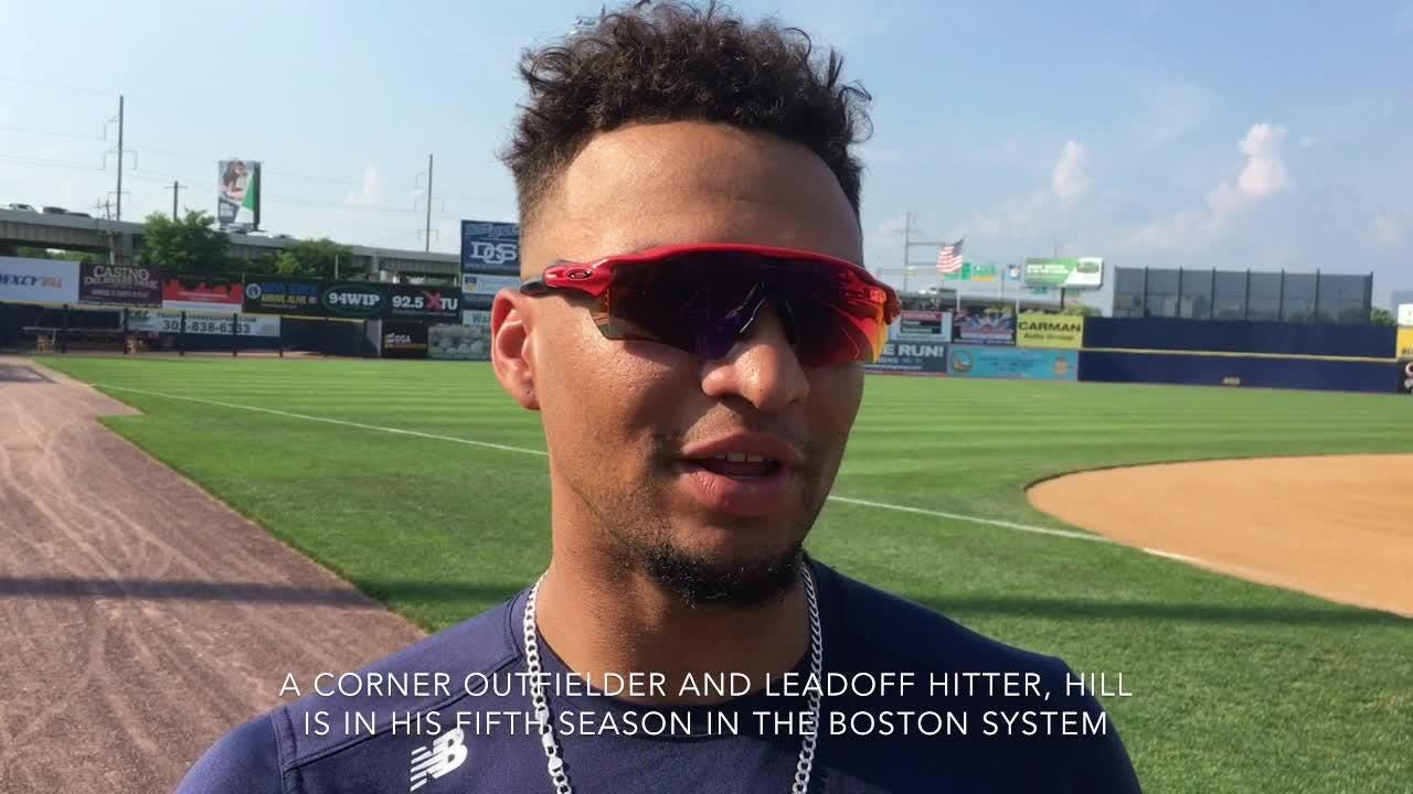 DMA grad Hill making mark in Red Sox system