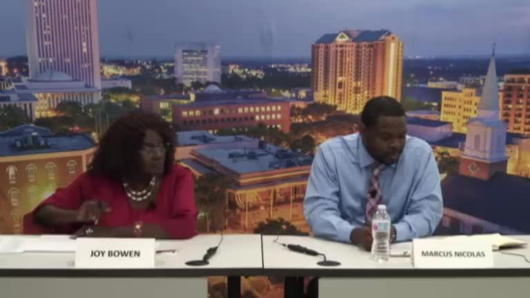 Watch it: School Board District 5 candidates meet with the Editorial Board