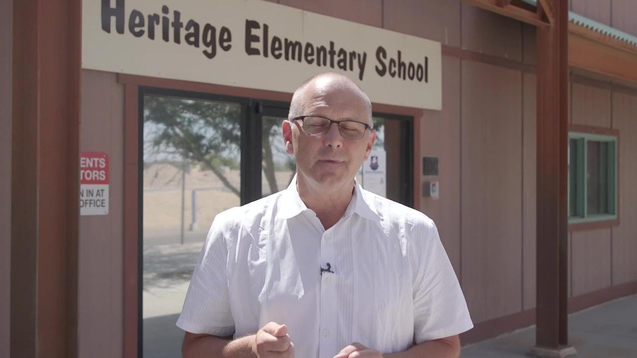 Heritage Elementary, a Glendale charter school, reversed its decision to not give 20 teachers their earned merit pay during a board meeting today.
