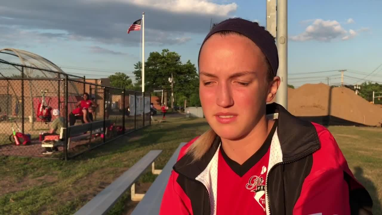 Glen Rock rising senior Ellen Feuss details the accident that sent her to hospital and gave her a serious concussion.