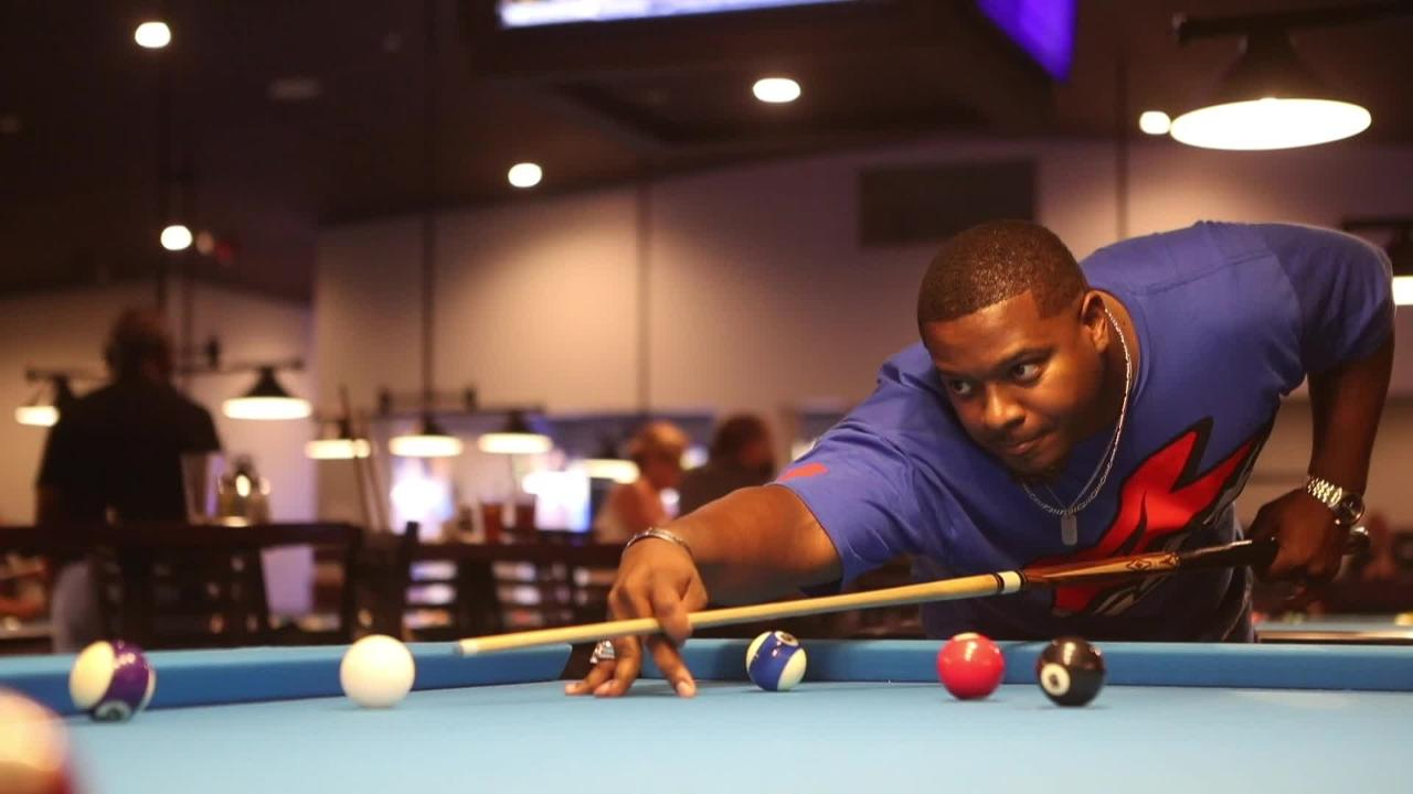 Robert Blackiston looks ahead to the World Pool Championship that he and his teammates will be competing in next month.
