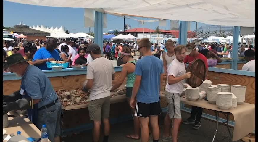 WATCH: 42nd Annual J. Millard Tawes Crab & Clam Bake