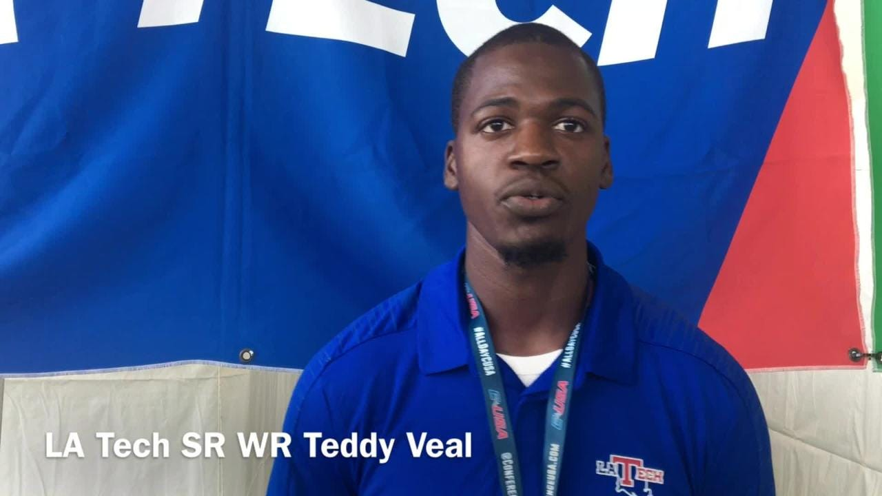 Louisiana Tech senior wide receiver Teddy Veal talks the program's high expectations and just missing them last few seasons.