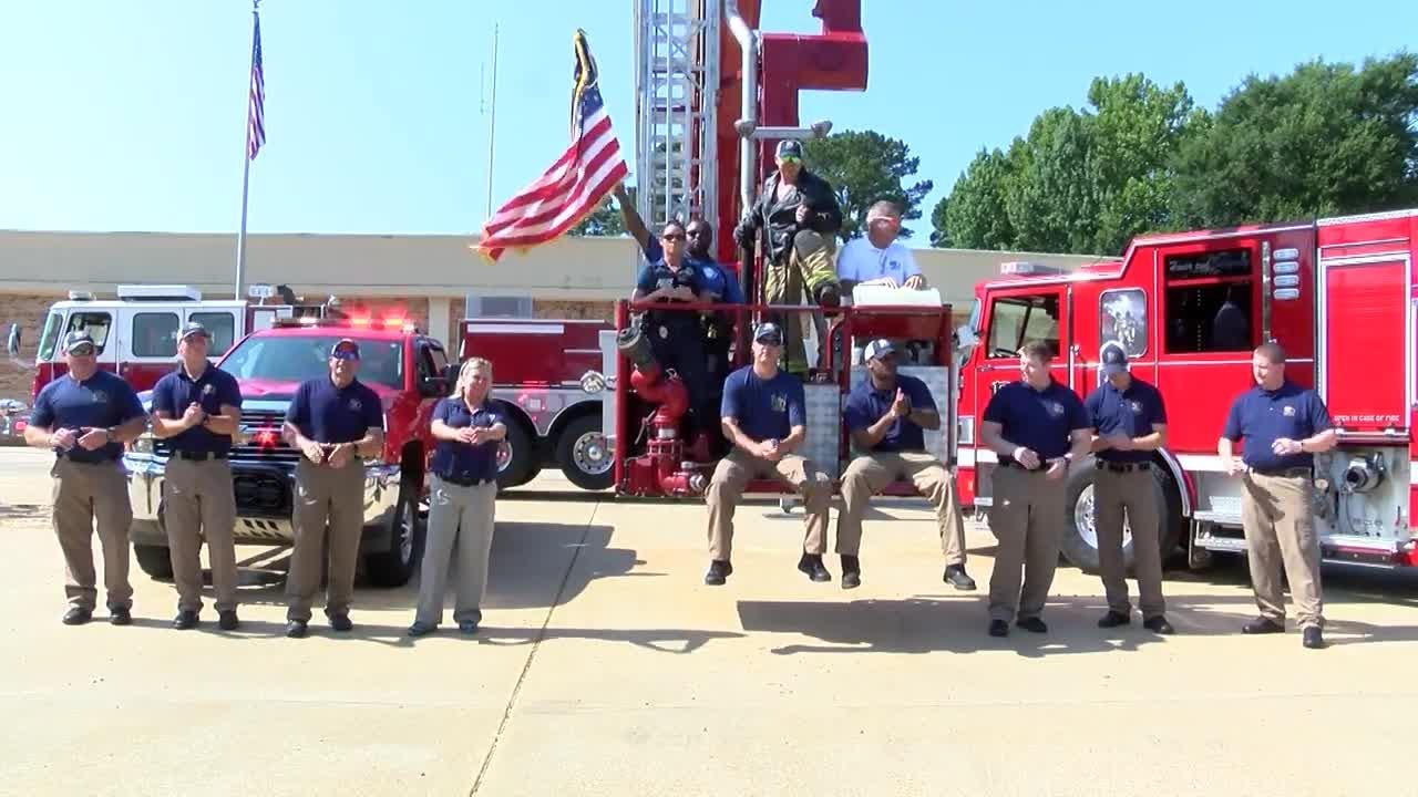 Watch the Pearl Police Dept. Lip Sync Challenge.