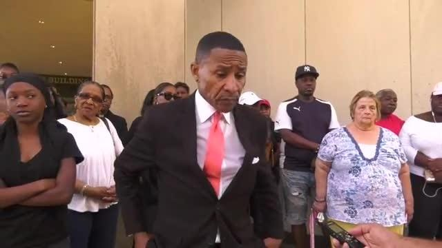 The prosecution of 39 people accused of  drug dealing is being protested by the friends and family of those accused as a sweep up of black men.   7/19/18