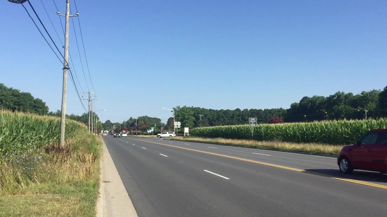 Changes to lane markings on Route 179 between Onley and Onancock are in the works to address traffic problems.